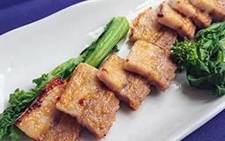 ホエー豚の西京味噌焼き