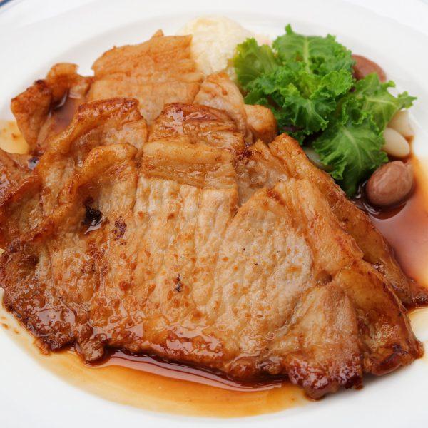 北見産豚ロースの生姜焼きセット