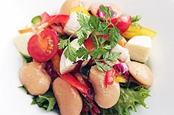 白花豆のハーブサラダ